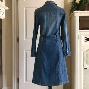 Jane Doe Jackets & Coats - BUTTON UP / TIE PRINCESS CUT JEAN JACKET